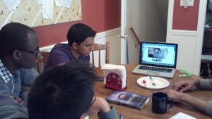 Jon, one of our students turned resident, joins us virtually from CA!